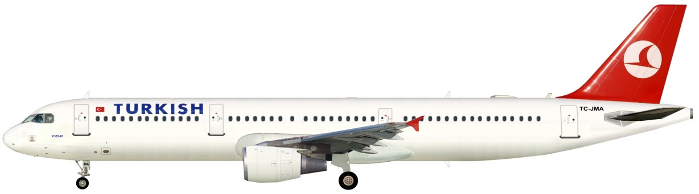 аэробус 321-231 схема салона турецкие авиалинии
